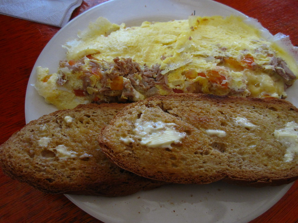 Real Coffee Omelette