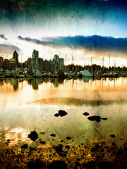 Vancouver (ZedZap Photos) Tags: city travel vacation holiday canada reflection tourism vancouver landscape bc harbour canadian vancouverisland pacificnorthwest yachts coalharbour victoriabc nationalgeographic coalharbor zedzap