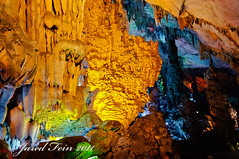 Reed Flute Cave 2 (SewerDoc (4 million views)) Tags: china color colour texture nature asia guilin formation limestone cave geology attraction guangxi naturesfinest guangxiprovince reedflutecave sewerdoc ©jaredfein