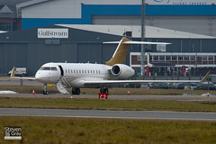 G-KANL - 9331 - Ocean Sky - Bombardier BD700-1A10 Global Express - Luton - 110104 - Steven Gray - IMG_7431