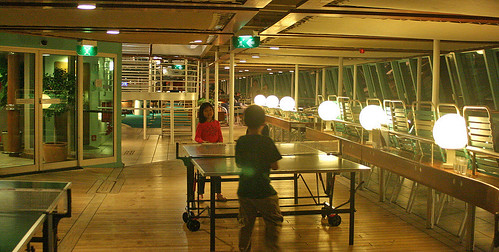 Ping pong never looked so glamorous