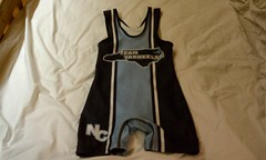 Team Tarheel NC Wrestling Singlet (S) (NCWrestler (Really wants some grecos)) Tags: nc wrestling small carolina singlet tarheel