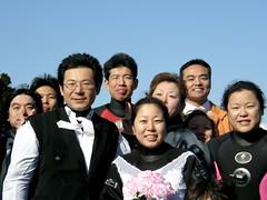 #5688 wedding party on beach at Ōsezaki