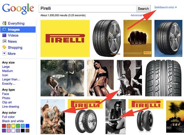 Pirelli Google Search