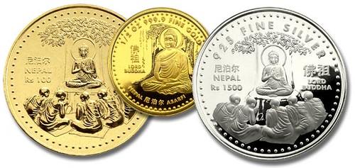 Nepalese Buddhist Coins