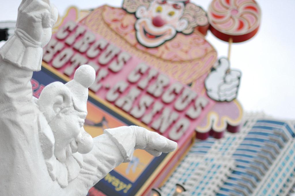 Circus Circus, Las Vegas cc Domitilla Ferrari