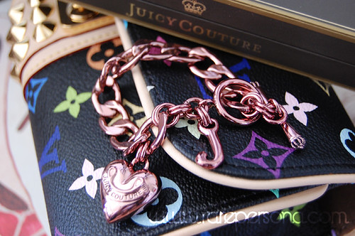 SHOPPING: Juicy Couture Charm Bracelet.