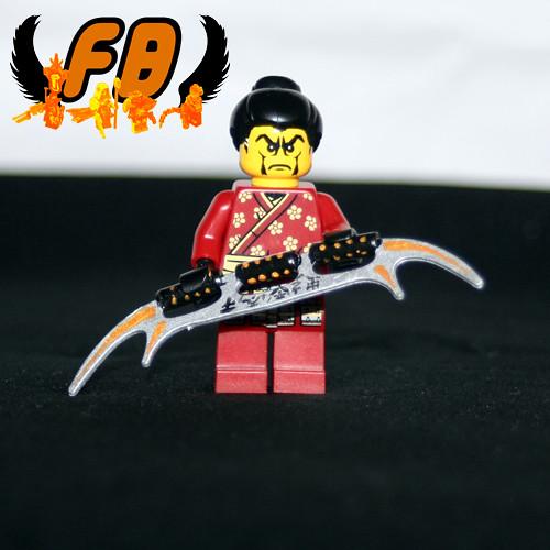 Custom minifig Samurai Azai Sukemasa custom lego minifigure