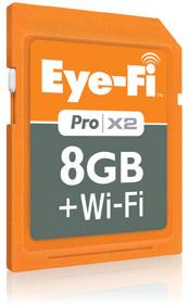 Eye-Fi X2 Pro - WLAN-SD-Karte