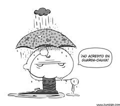 Zumbigo - pequenas crenas em dia de chuva (tio .faso) Tags: storm rain umbrella zombie chuva zumbi tempestade guardachuva zumbigo