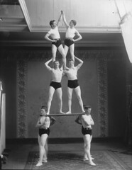 Gymnastic group, Montreal, QC, 1891 (Muse McCord Museum) Tags: canada gymnasts mccordmuseum musemccord