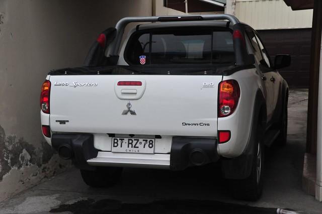 chile truck 4x4 diesel rail pickup punta dakar arenas did common l200 mitsubishi crs sportero