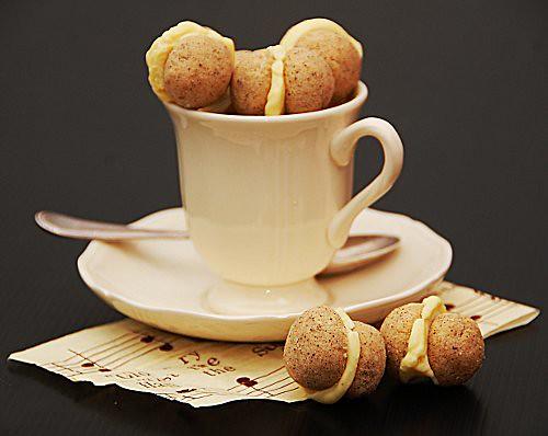 baci di cortigiana al caffè e cioccolato bianco