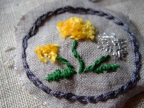 Dandelion Embroideries