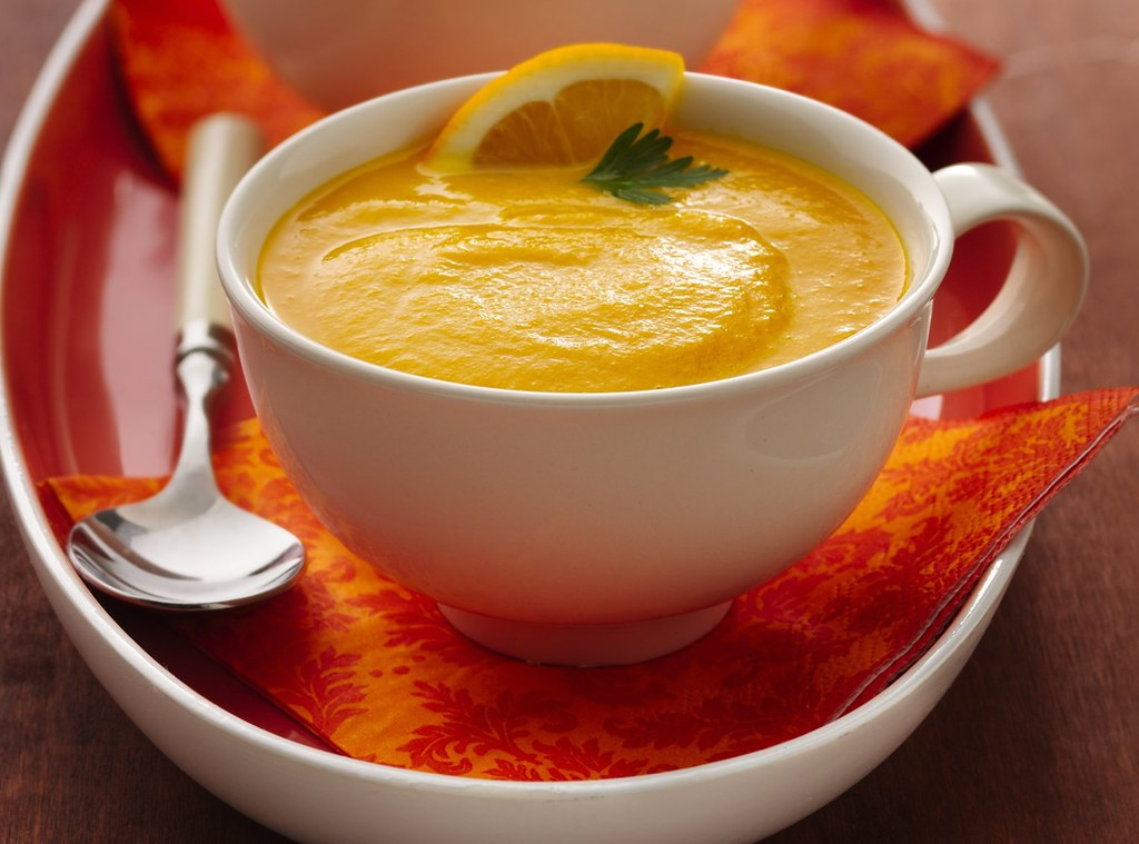 Slow Cooker Gingered Carrot Soup Recipe