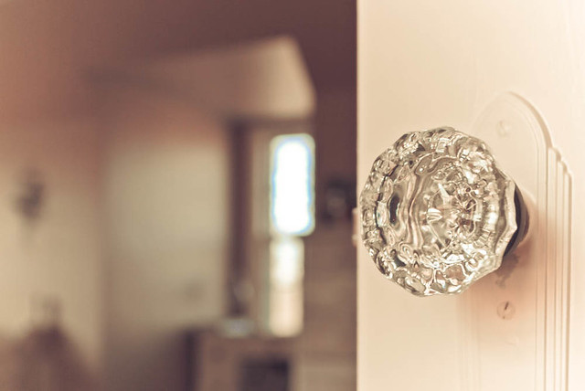 i love my doorknobs.