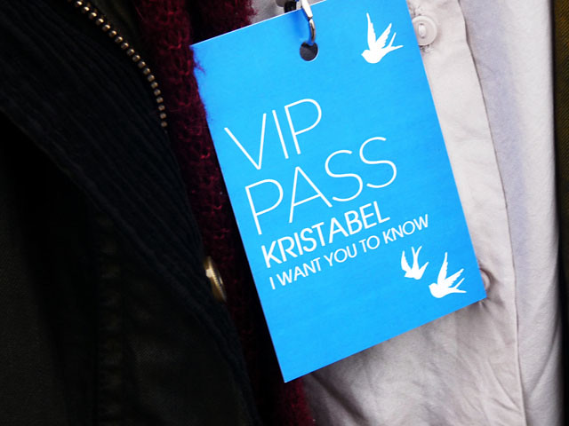 close up vip pass