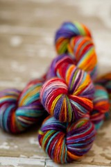 'Resolution' on Stag organic single ply merino