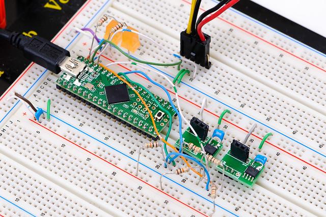 Reflow Oven Controller - closeup