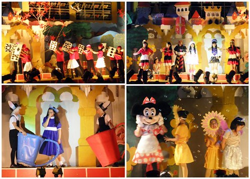 alice adventure, alice in wonderland, mickey mouse, minnie mouse