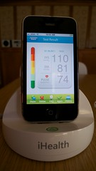 home blood pressure monitor - iHealth App + Reading