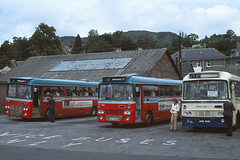 Highland Omnibuses T100 T15 Pitlochry (Guy Arab UF) Tags: bus buses scotland 1975 alexander pitlochry t100 t15 alexandermidland highlandomnibuses fordr1114 vrg143l hst200n limitedstopservice mpe114 ams514k