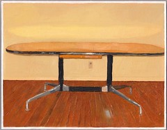 Untitled Project: EAMES TABLE (untitledprojects) Tags: conrad bakker conradbakker untitledprojects untitled projects art artist sculpture painting things