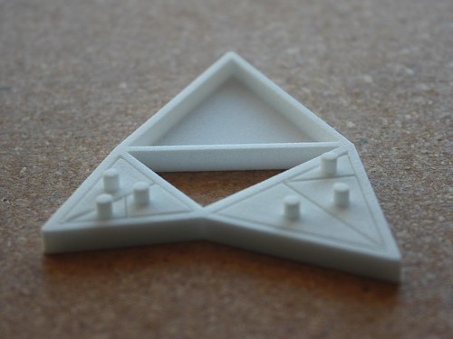 The Triangles of Pythagoras, small triangles assembled