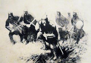 მეომარი ხევსურები  - Warrior khevsurs