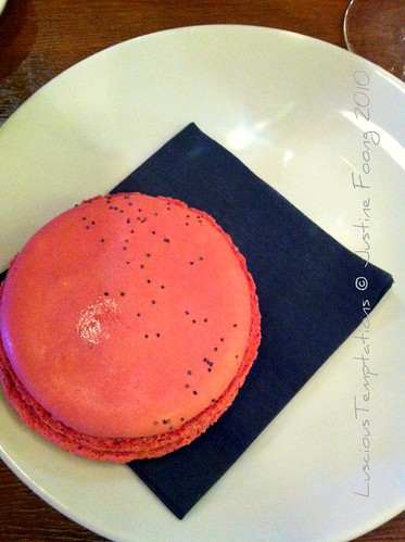 Strawberry Macaron - Aubaine, Selfridges