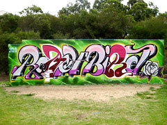 ROACH and BIRD - Sydney, Australia. (Ironlak) Tags: bird graffiti sydney roach ironlak
