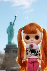 Miss Freedom & Goddess of Freedom