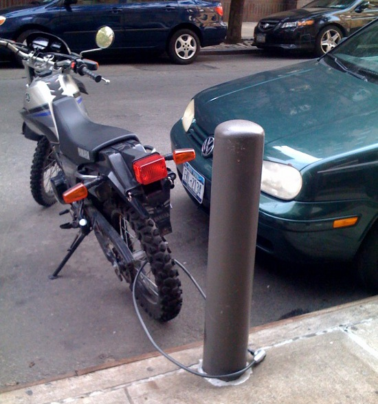 Motorbike Lock Fail