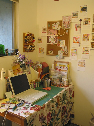 Craft Table and Wall