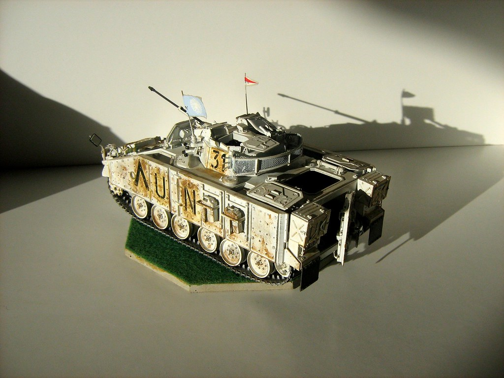 Academy Models - 'United Nations' Warrior MCV - 5 of 6