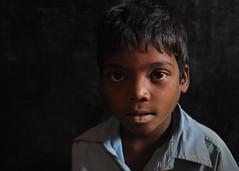 A Question Mark ... !! (Anmol Bhalla) Tags: poverty light rural dark child classroom question blueshirt interrogation madhyapradesh disinterested ruralindia paleeyes