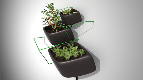 Wallflower Urban Garden - Designed by Haldane Martin. 3  Sizes.