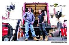 Marcus Luttrell and Joe Nichols IN THEIR BOOTS (Boot Campaign) Tags: boot im marcus joe lone shape campaign survivor nichols the in luttrell