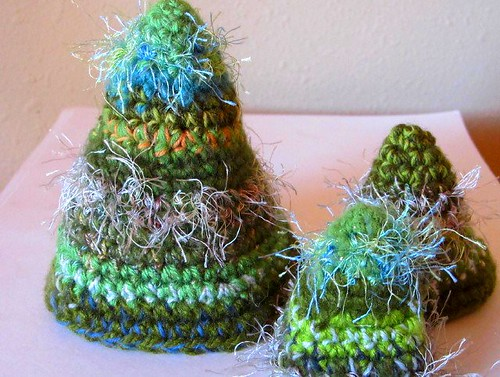 The Fuzzy Crocheted Trees