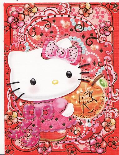 hello kitty rabbit chinese new year