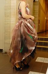 Alina purtant rochia pictata