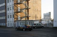 Gwinnerstrae, Frankfurt am Main 2014 (Spiegelneuronen) Tags: architektur industrie frankfurtammain gewerbegebiet riederwald