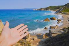 I present (simonturkas) Tags: greece travel adventure amazing beautiful wow wanderlust europe interesting water waves beach sun sunny