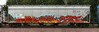 Crabs/Ortek/Sence (quiet-silence) Tags: graffiti graff freight fr8 train railroad railcar art hopper up unionpacific crabs ortek sence tvs cnw490413