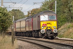 57316.Sutton.6.10.16 (deltic17) Tags: charter passenger train loco diesel class57 countryside canon 5dmk3