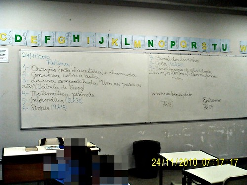 Rotina Prevista - e cumprida (24/11/2010)