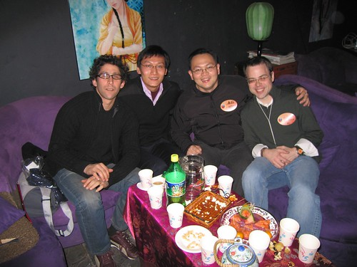 Jeremy Goldkorn, uknown, Ching Chiao, John Lilly