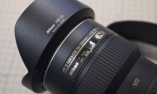 Nikkor AF-S 16-35mm f/4G