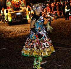 Taking A Crisp Walk (Rosemarie.s.w) Tags: carnival light england colour lights costume creative culture somerset scene 2010 taunton extrordinary eos450d canoneos450d qualitygold