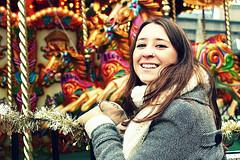 Marta ( Hippiehappy [Raquel]) Tags: uk inglaterra portrait england girl navidad birmingham chica retrato felicidad chirstmas ritratto ragazza tiovivo